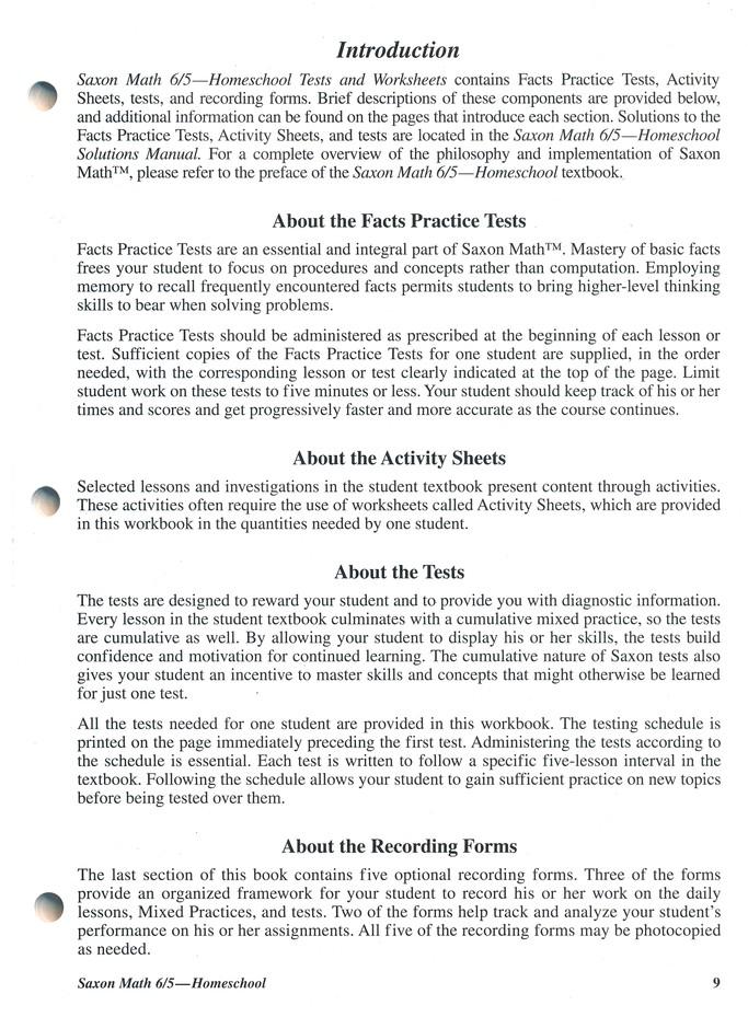 Saxon math 65 3rd edition tests worksheets 9781591413226 saxon math 65 3rd edition tests worksheets 9781591413226 christianbook fandeluxe Image collections