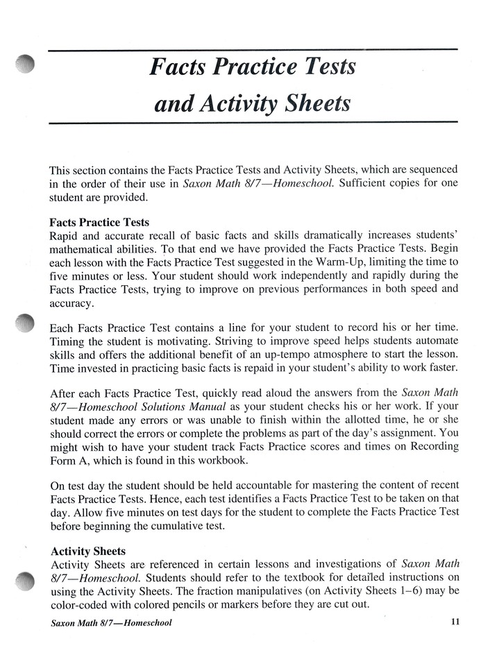 Saxon math 87 3rd edition tests worksheets 9781591413240 saxon math 87 3rd edition tests worksheets 9781591413240 christianbook fandeluxe Image collections