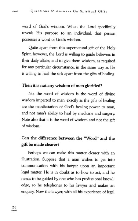 Questions & Answers on Spiritual Gifts: Howard Carter: 9781577940654 - Christianbook.com