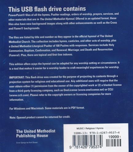 The United Methodist Hymnal, Presentation Edition
