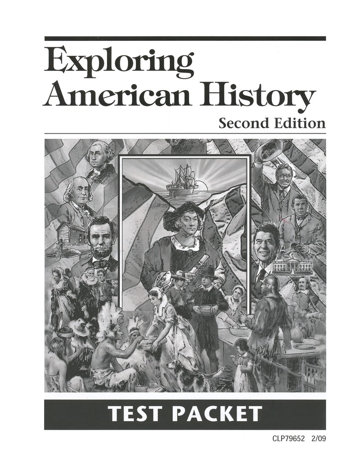 Exploring American History Second Edition Test Packet, Grade 5