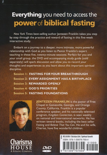 Fasting: 5-Week Interactive Study Resource, DVD