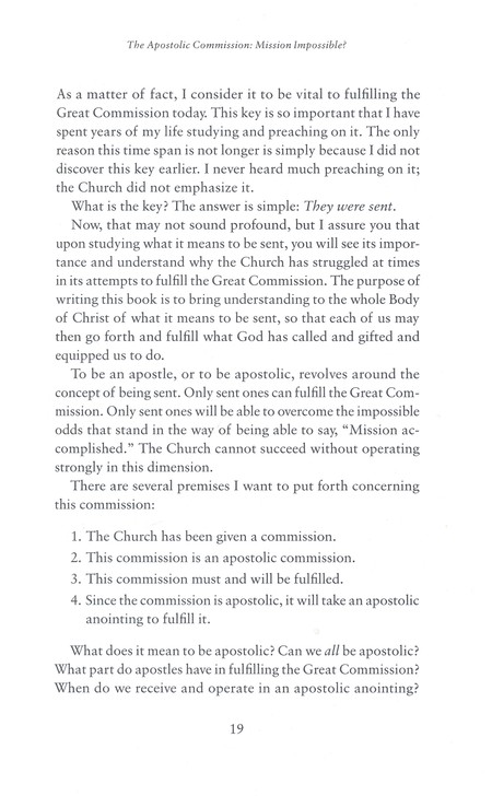 Moving in the Apostolic, revised and updated: How to Bring the Kingdom of  Heaven to Earth