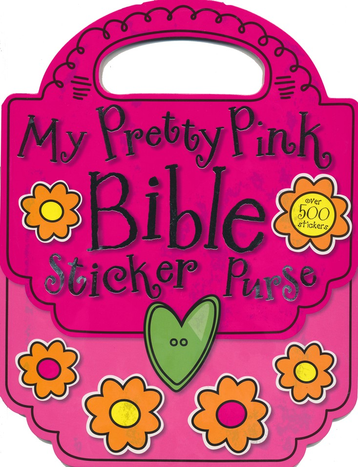 My Pretty Pink Bible Sticker Purse