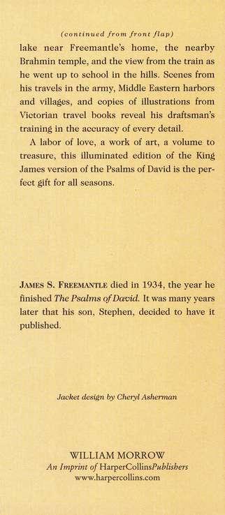 The Psalms Of David James S Freemantle 9780688013127