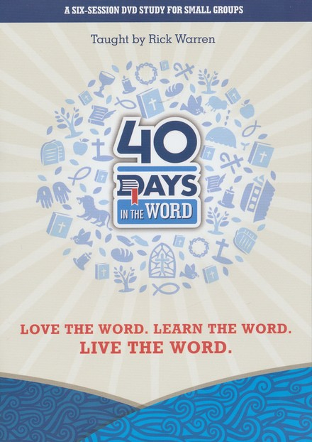 40 Days in the Word Small Group DVD