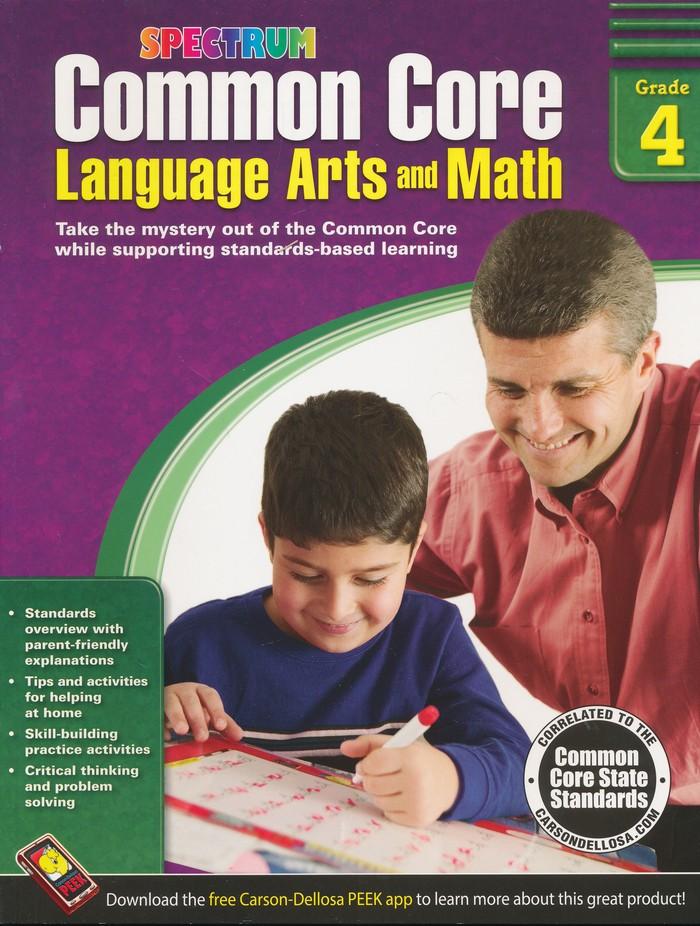 Common Core Math and Language Arts, Grade 4