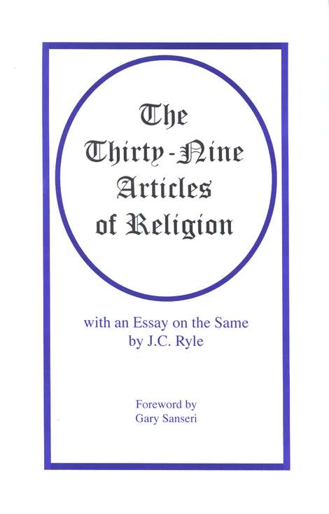 The Thirty-Nine Articles of Religion