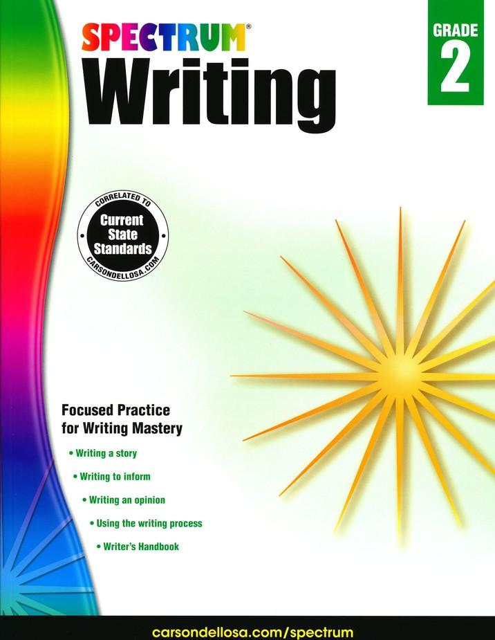 Spectrum Writing Grade 2 (2014 Update)