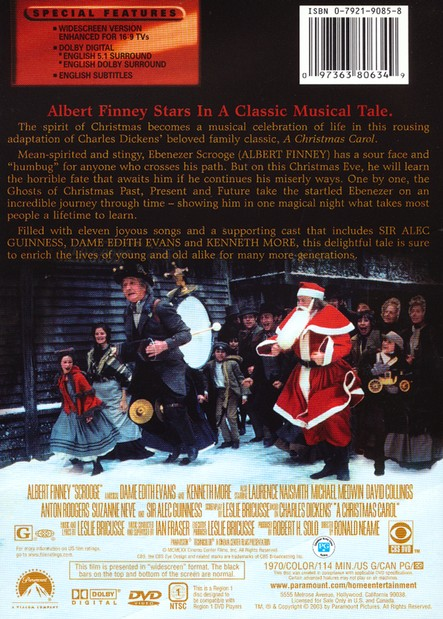 Scrooge 1970 Dvd Christianbook Com