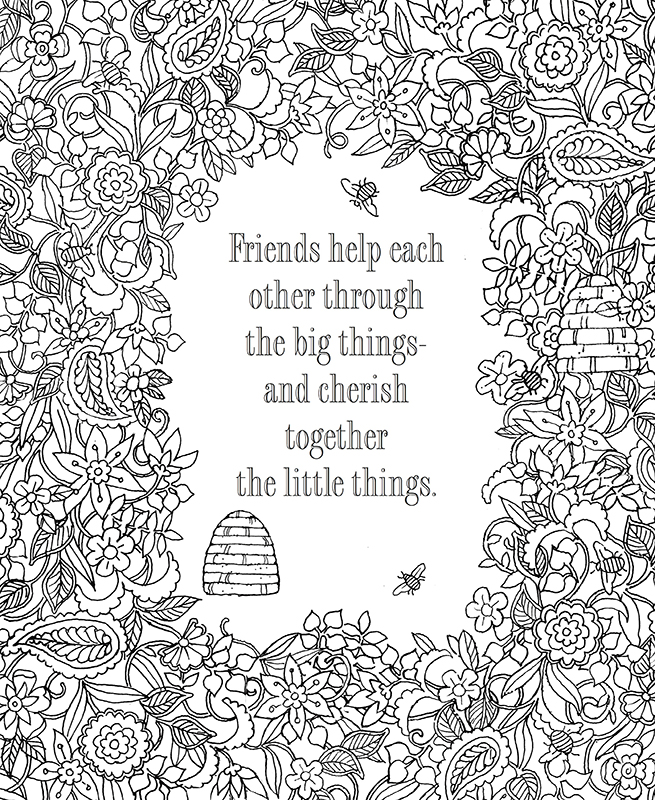 - The Book Of Friendship Coloring Art: 9780996806725 - Christianbook.com