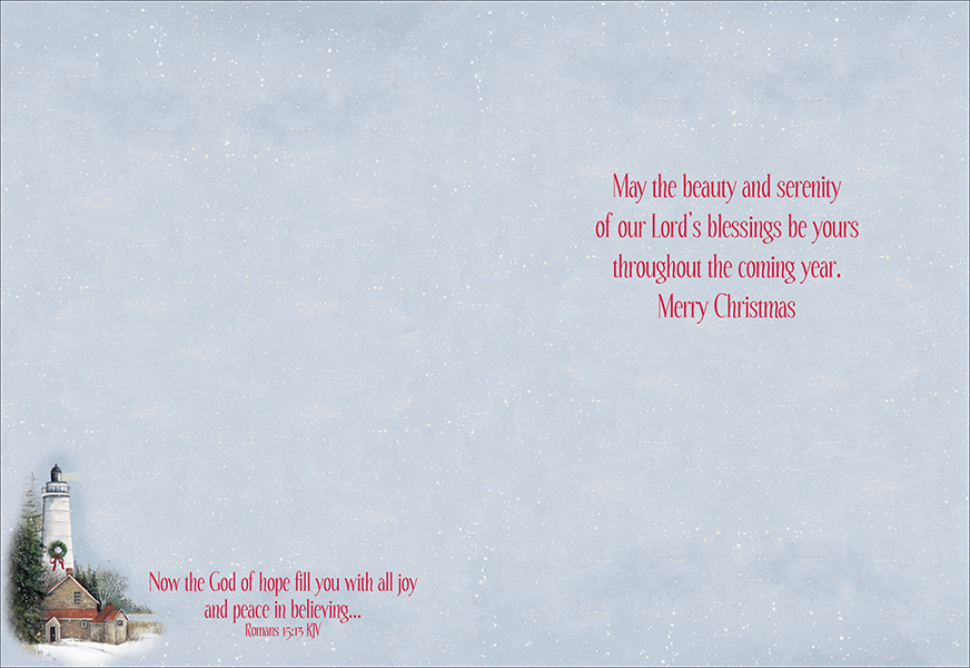 Lighthouse Christmas Cards, Box of 12: Pat Richter - Christianbook.com