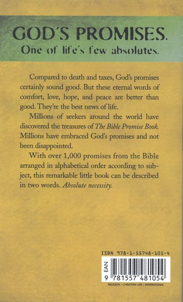 The Bible Promise Book Kjv 9781557481054 Christianbook Com