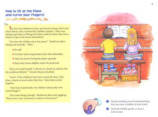 Music for Little Mozarts, Music Lesson Book 1