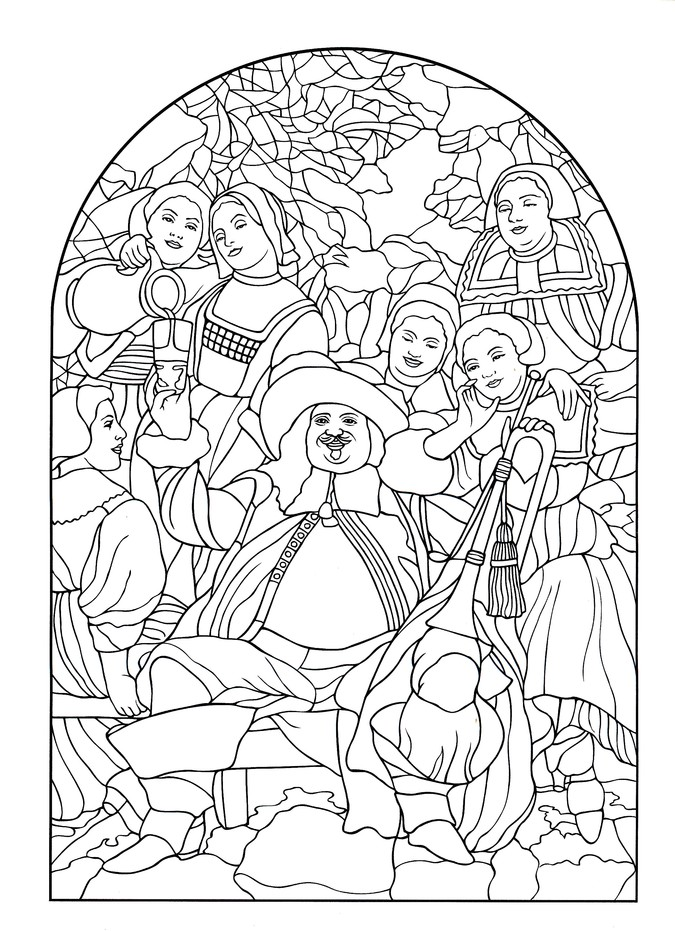 - Tiffany Windows Coloring Book: Marty Noble: 9780486814926 -  Christianbook.com