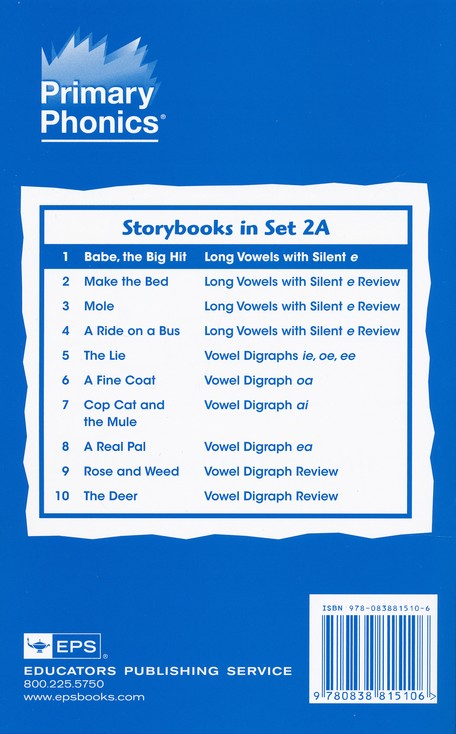 More Primary Phonics 2A Storybook Starter Set