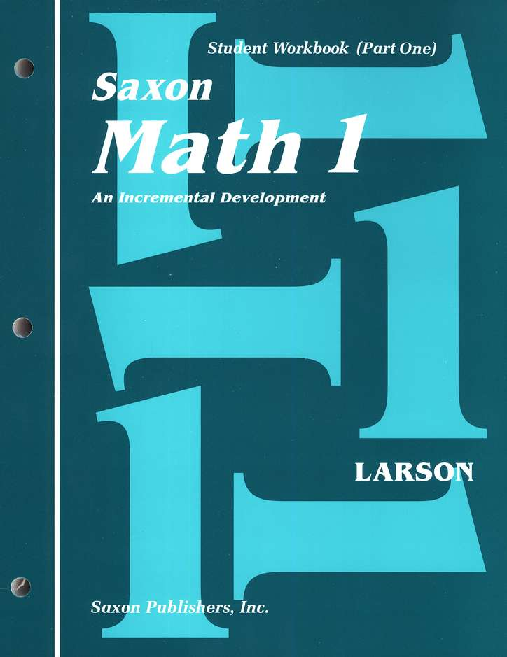 Saxon Math 1, Student Work Kit & Fact Cards