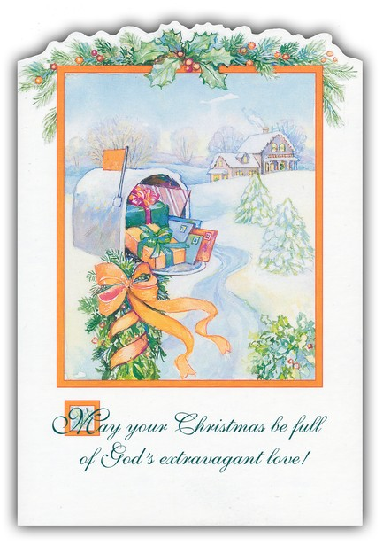 Traditional Scenes Value Christmas Cards, Box of 48
