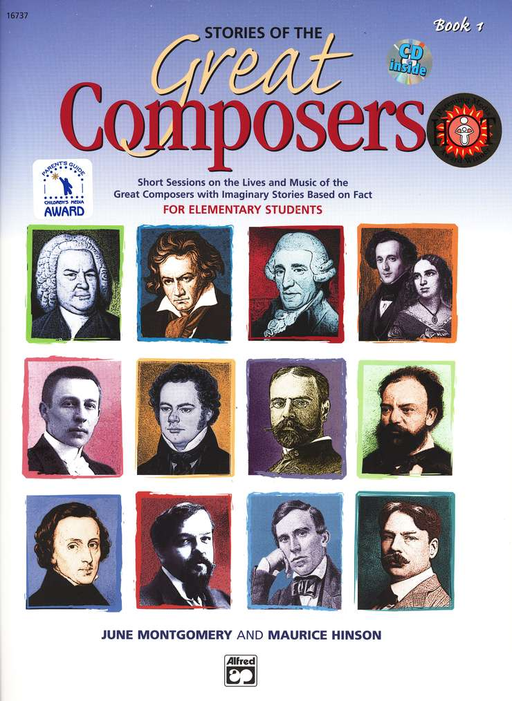 Stories of the Great Composers, Book 1 & CD