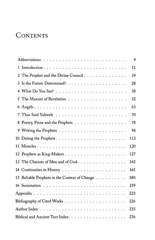 Themes and Transformations in Old Testament Prophecy