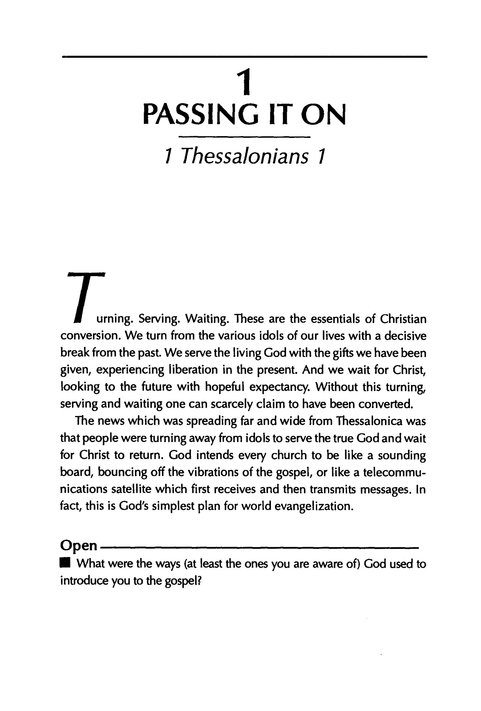1 & 2 Thessalonians, Living in the End Times, John Stott Bible Studies
