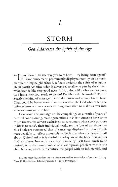 Storm Front: The Good News of God