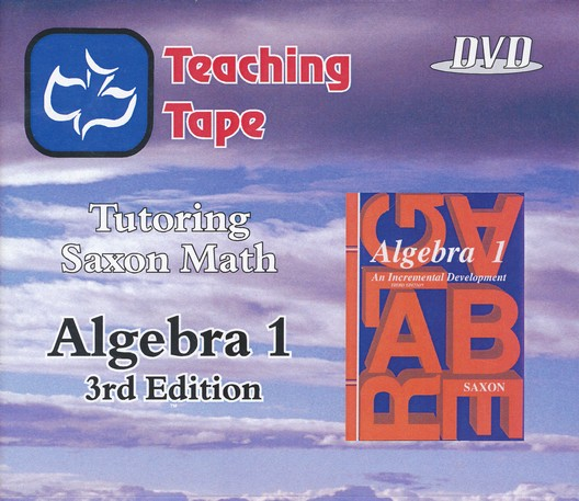 Teaching Tape Full Set DVDs: Saxon Math Algebra 1, 3rd Edition