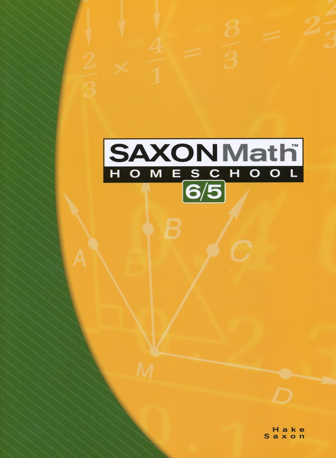 Saxon Math 6/5, 3rd Edition Home Study Kit & Teaching Tape Technology DVD Set Bundle
