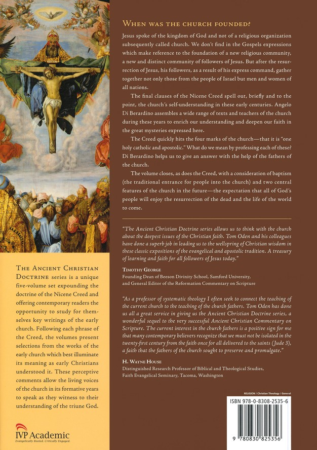 We Believe in One Holy Catholic and Apostolic Church: Ancient Christian  Doctrine Series [ACD]