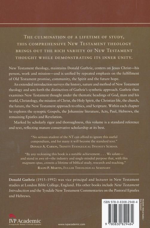 New Testament Theology [Donald Guthrie]