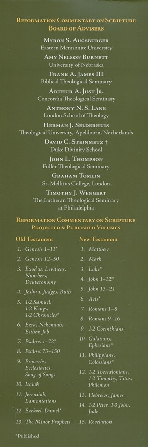 1-2 Samuel, 1-2 Kings, 1-2 Chronicles: Reformation Commentary on Scripture  [RCS]
