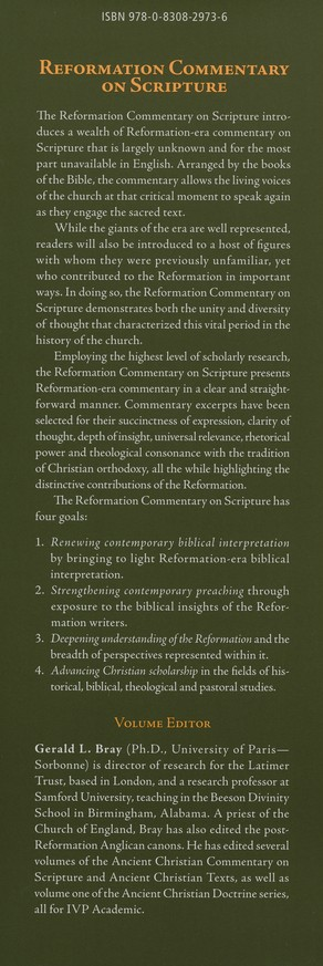 Galatians, Ephesians: Reformation Commentary on Scripture [RCS]