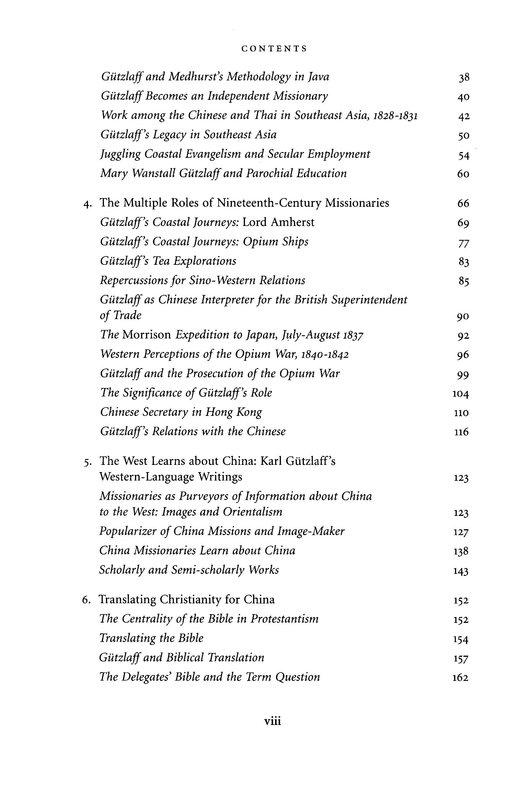 Opening China - Karl F.A. Gützlaff and Sino-Western relations, 1827-1852