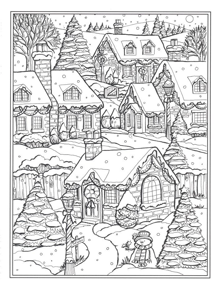 - Country Christmas Coloring Book: Teresa Goodridge: 9780486832524 -  Christianbook.com