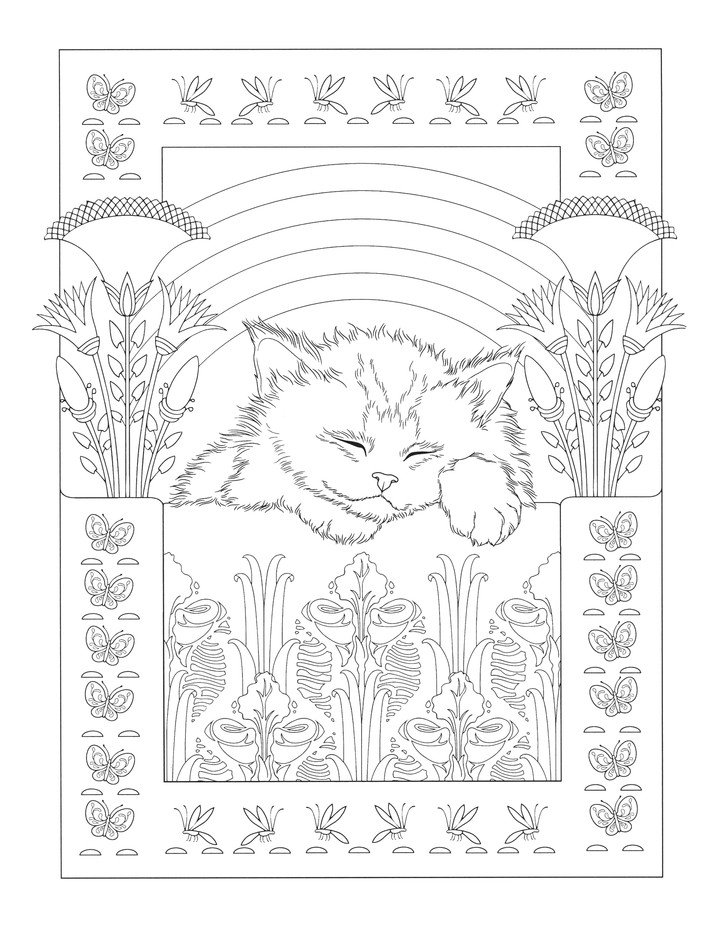 - Cats Coloring Book: Marty Noble: 9780486833903 - Christianbook.com