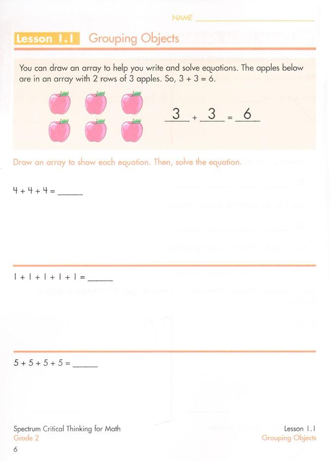 math for critical thinking