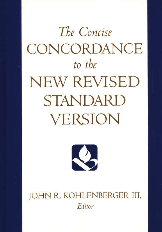 The Concise Concordance to the NRSV