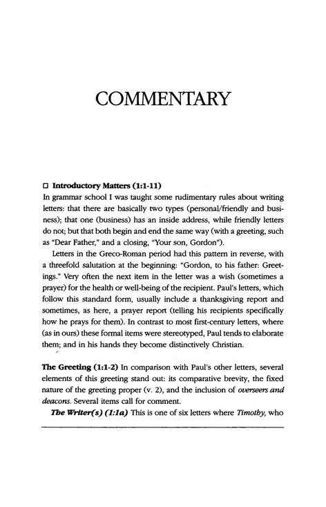 Philippians: IVP New Testament Commentary [IVPNTC]