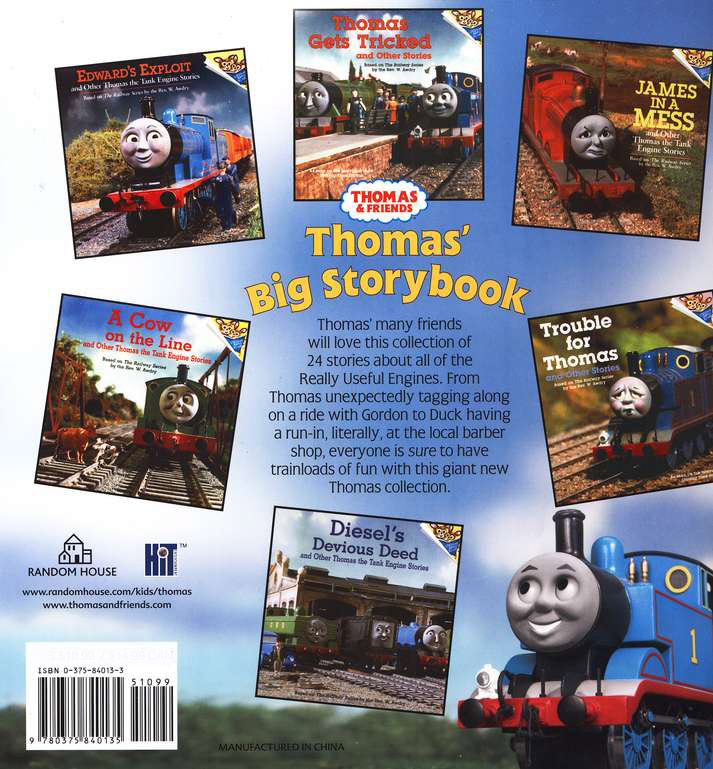 Thomas the Tank Engine and Friends: Thomas' Big Storybook