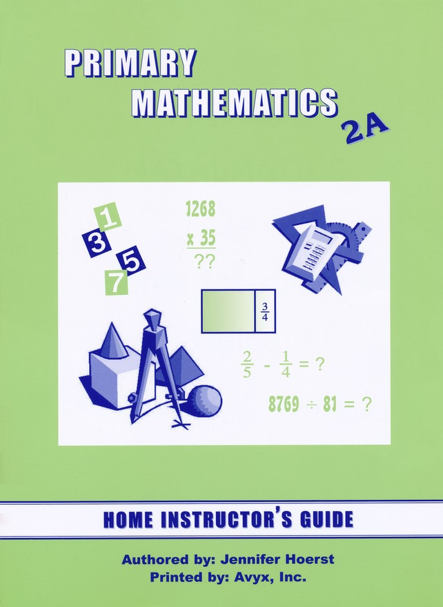 Singapore Math Primary Math Home Instructor's Guide 2A