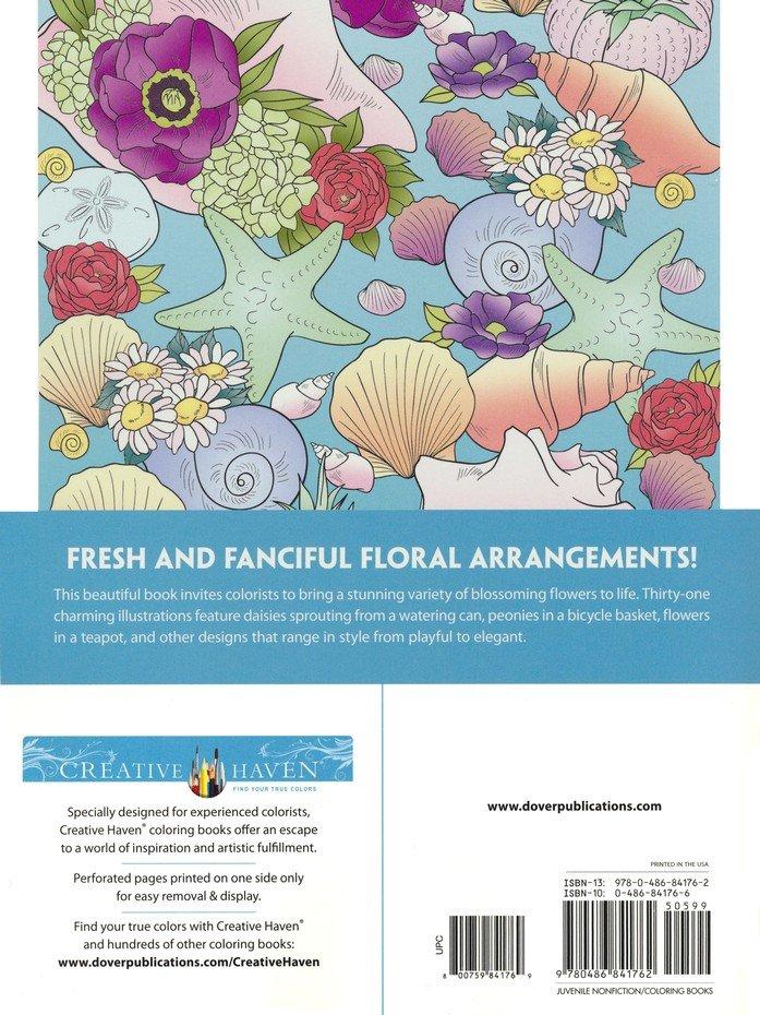 Creative Haven Flower Fancy Coloring Book: Jessica Mazurkiewicz:  9780486841762 - Christianbook.com