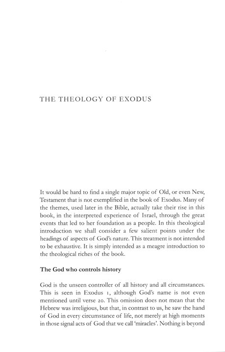 Exodus: Tyndale Old Testament Comemntary [TOTC]