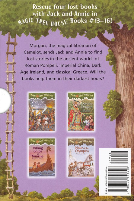 Magic Tree House: Books 13-16 Boxed Set