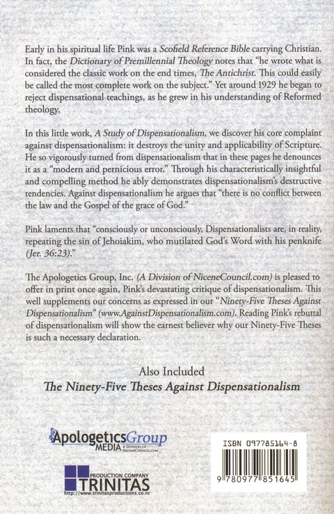 A Study in Dispensationalism