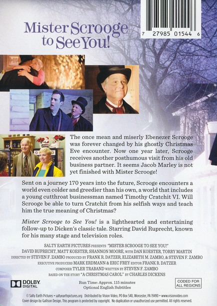 Mister Scrooge to See You! DVD