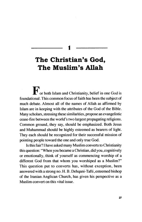 The Cross and the Crescent: Understanding the Muslim Heart and Mind