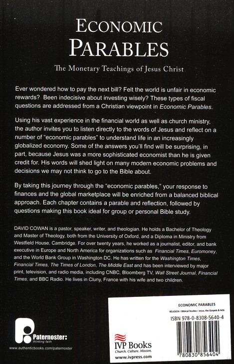 Economic Parables: The Monetary Teachings of Jesus Christ