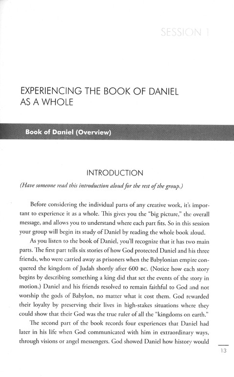 Daniel / Revelation: Understanding the Books of the Bible Study Guides