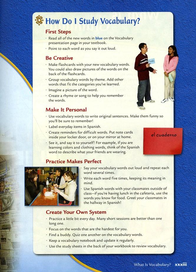 Avancemos Spanish Level 2 Homeschool Package