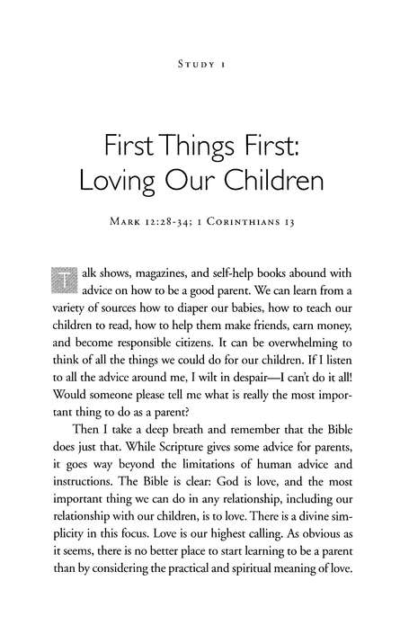 Parenting with Purpose & Grace Fisherman Bible Studies